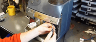 ремонт бытовой техники - кофемашина