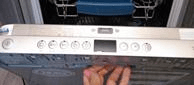 Не открывается люк у посудомоечной машинки
